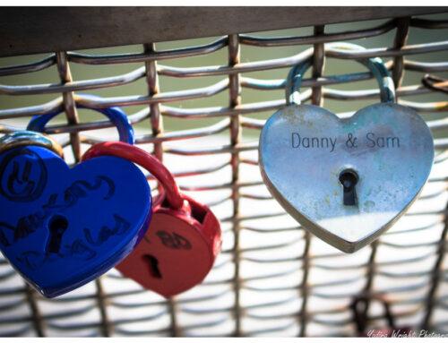 Happy Valentine's Day – Love Lock Bridge Bristol England