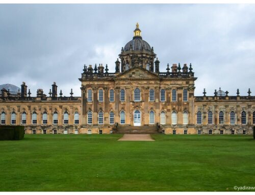 Bridgerton Netflix Series Filming Location in Episode 6 Castle Howard in Yorkshire England
